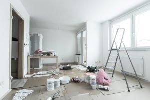 cara hemat dalam mendekorasi apartemen baru - meja kasir